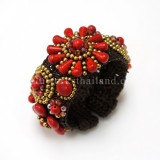 Sunflower Bangle (Red)