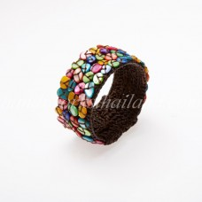 Shell Beads Bangle (MIX)