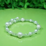 Freshwater Pearl Spring Bangle 04