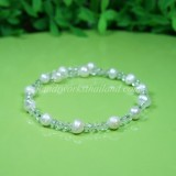 Freshwater Pearl Spring Bangle 05