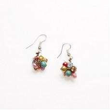 Mix Freshwater Pearl Earring 02