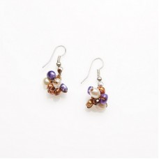 Mix Freshwater Pearl Earring 04