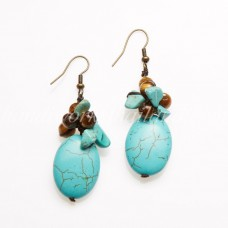 Mix Stone Earring 01