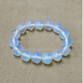 Lucky Stone Bracelet 12 mm. Moonstone