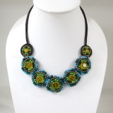 7 Round beads necklace (Mix02)