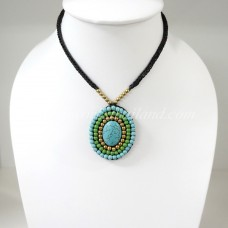 Pendant Necklace (Turquoise)