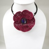 Flower Choker Necklace (RPPL)