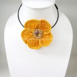 Flower Choker Necklace (ํYellow)