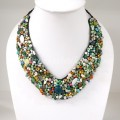 Shell  V-Shaped Necklace MIX(Green)