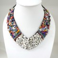 Shell V-Shaped Necklace Mix (Colorful)