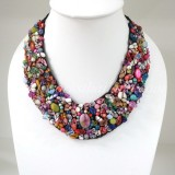 Shell  V-Shaped Necklace MIX(Pink)