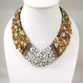 Shell V-Shaped Necklace Mix(Yellow)