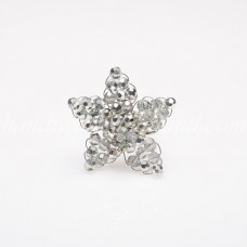 Star Crystal Ring (Silver)