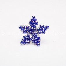 Star Crystal Ring (Blue)