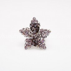 Star Crystal Ring (Purple)
